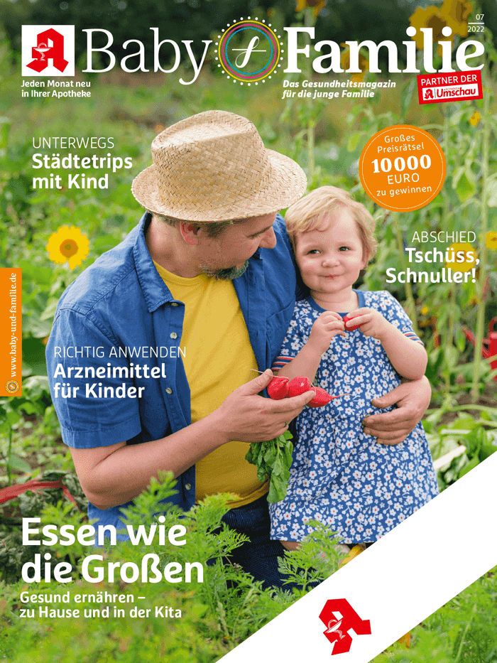 Zeitungscover: Baby & Familie