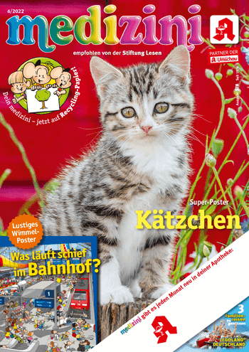 Medizini - das Postermagazin für Kinder
